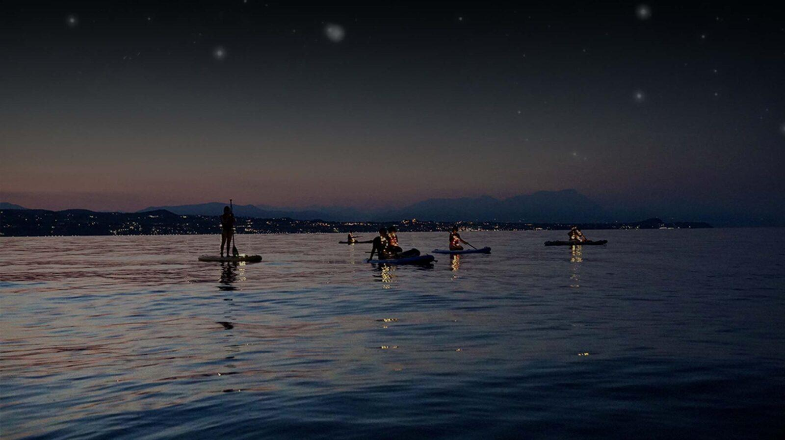 Sup Tour Luna & Stelle Lago di Garda