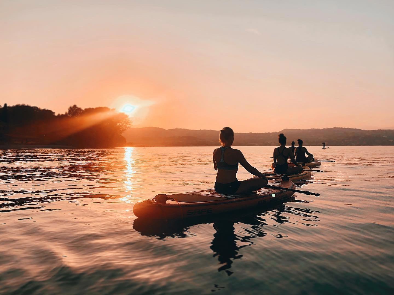 Sup Yoga Lago di Garda